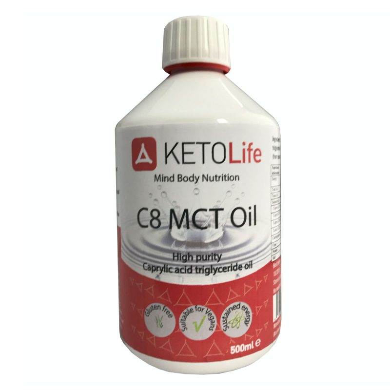 C8 MCT Coconut Oil - 500ml