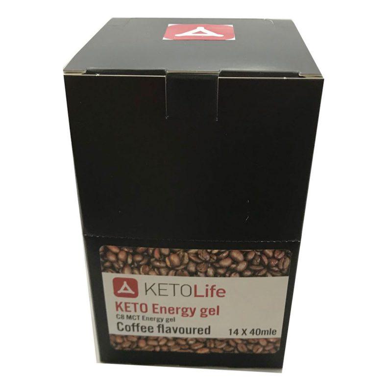 Keto Energy Gel - Coffee - 40ml