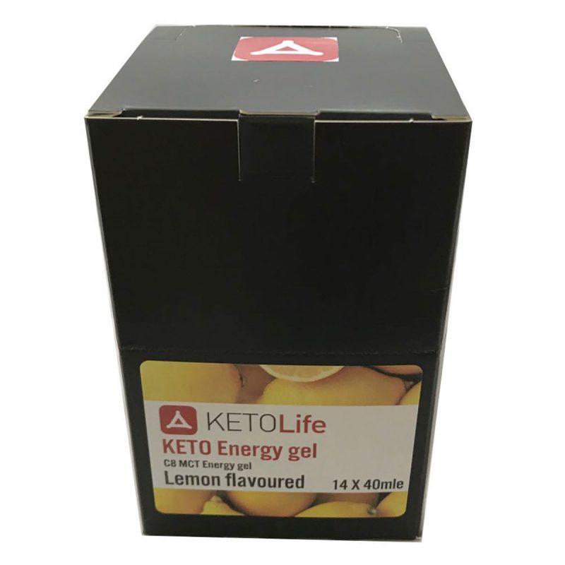 Keto Energy Gel - Lemon - 40ml