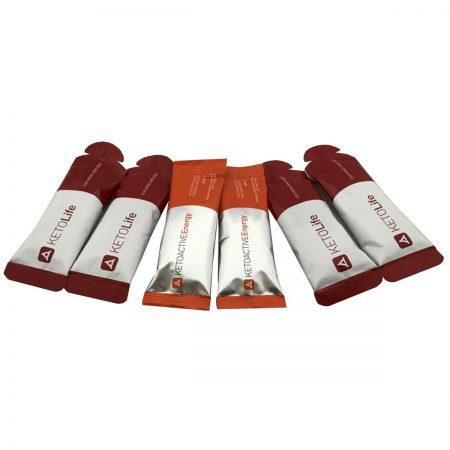 KETO Energy Gel Selection (6 Gels)